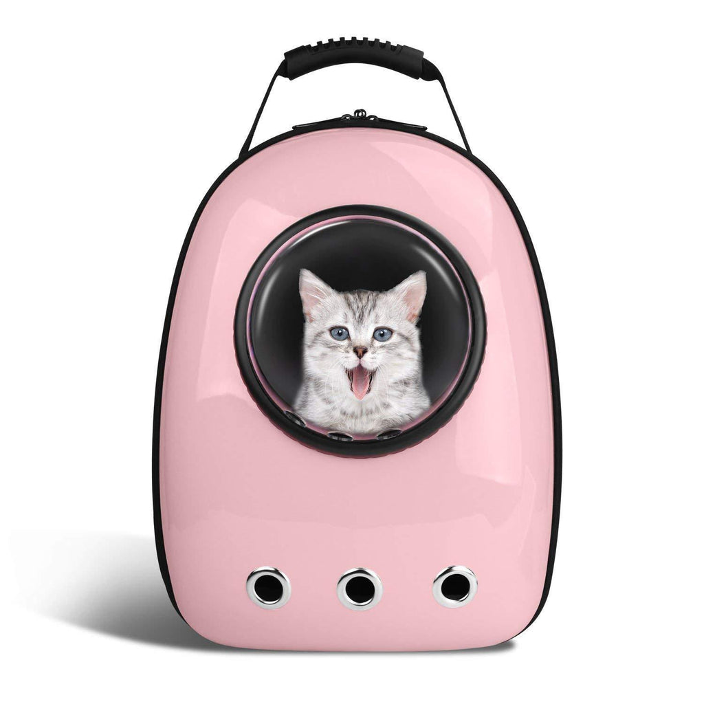 Pet Backpack Carrier Space Capsule Bubble & Waterproof for Cats and Dogs | Portable & Travel friendly