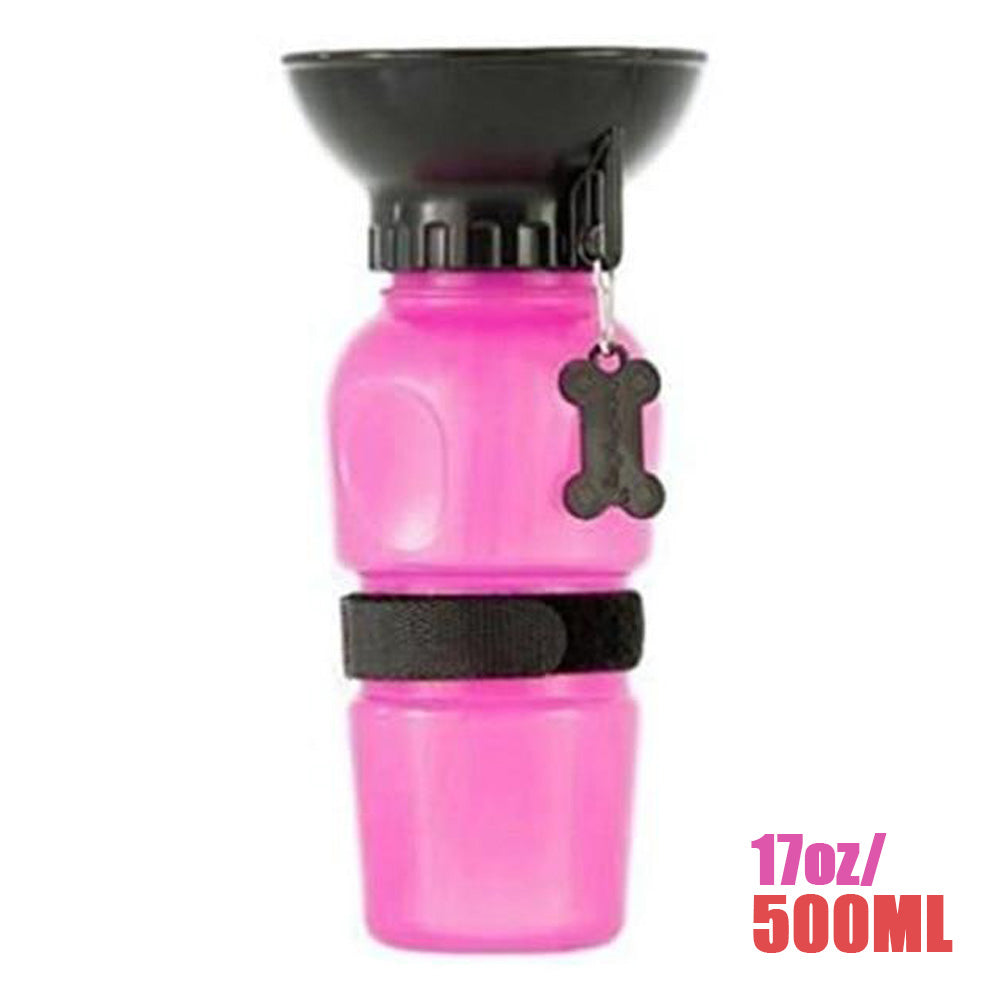 Portable Pet Water Bottle For Dogs & Cats | Lightweight, Convenient & Travel-Friendly