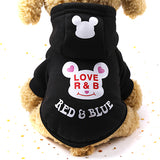 dog winter clothes Cartoon Print Pet Dog Clothes Jacket for Small Dogs  French Bulldog Teddy Costume Pets Clothing