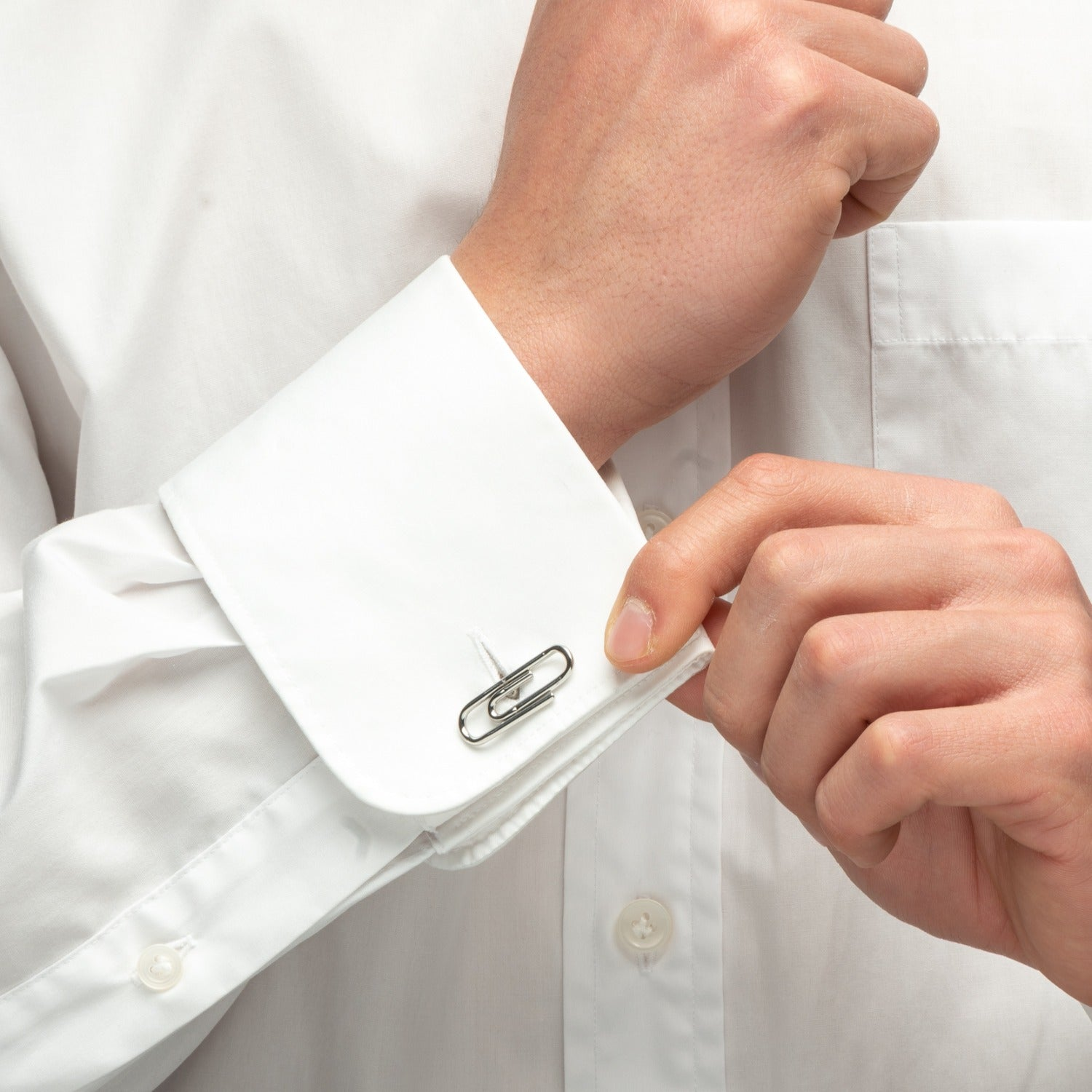 Aeon | Oxford Cufflinks | Stainless Steel