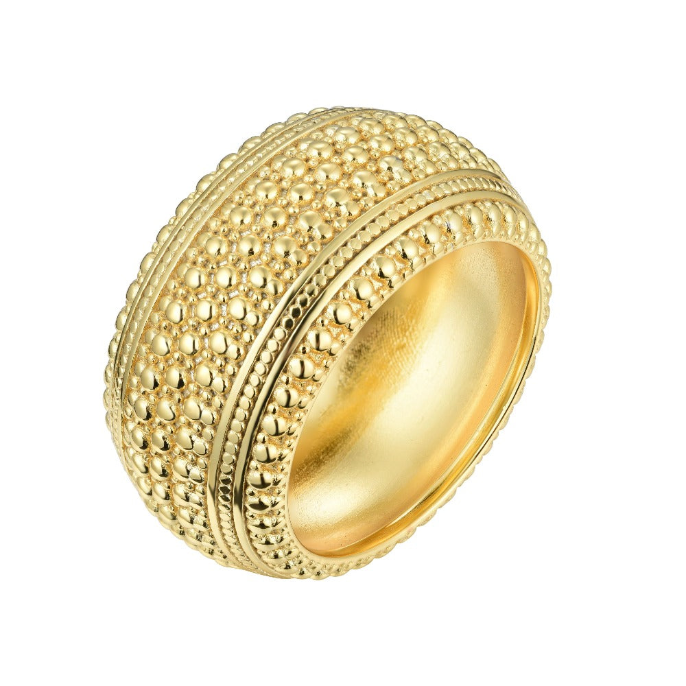 Salacia | Spetses Ring | 925 Silver | 18K Gold Plated