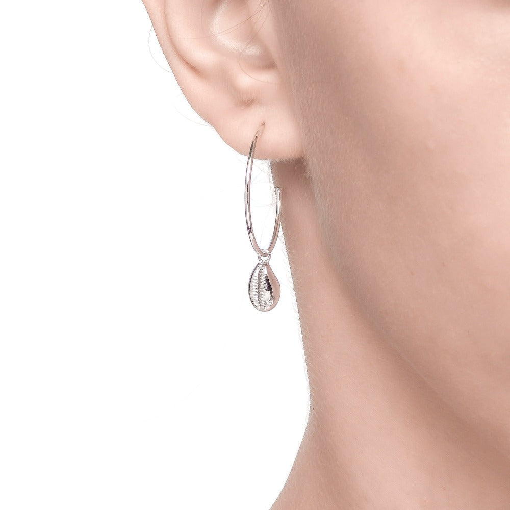 Carmenta | Kauai Earrings | 925 Silver | White CZ | White Rhodium Plated