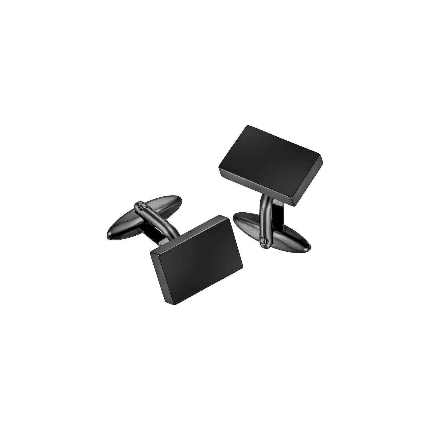 Aeon | Edinburgh Cufflinks | Gunmetal Plated Stainless Steel