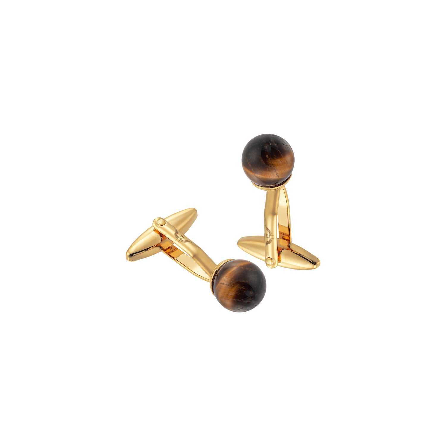 Aeon | Venice Cufflinks |Gold Plated Stainless Steel