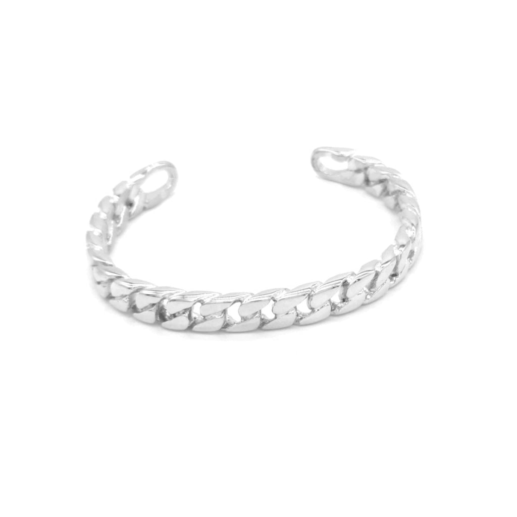 Decima - Chain Bracelet Stainless Steel Ion White Plating
