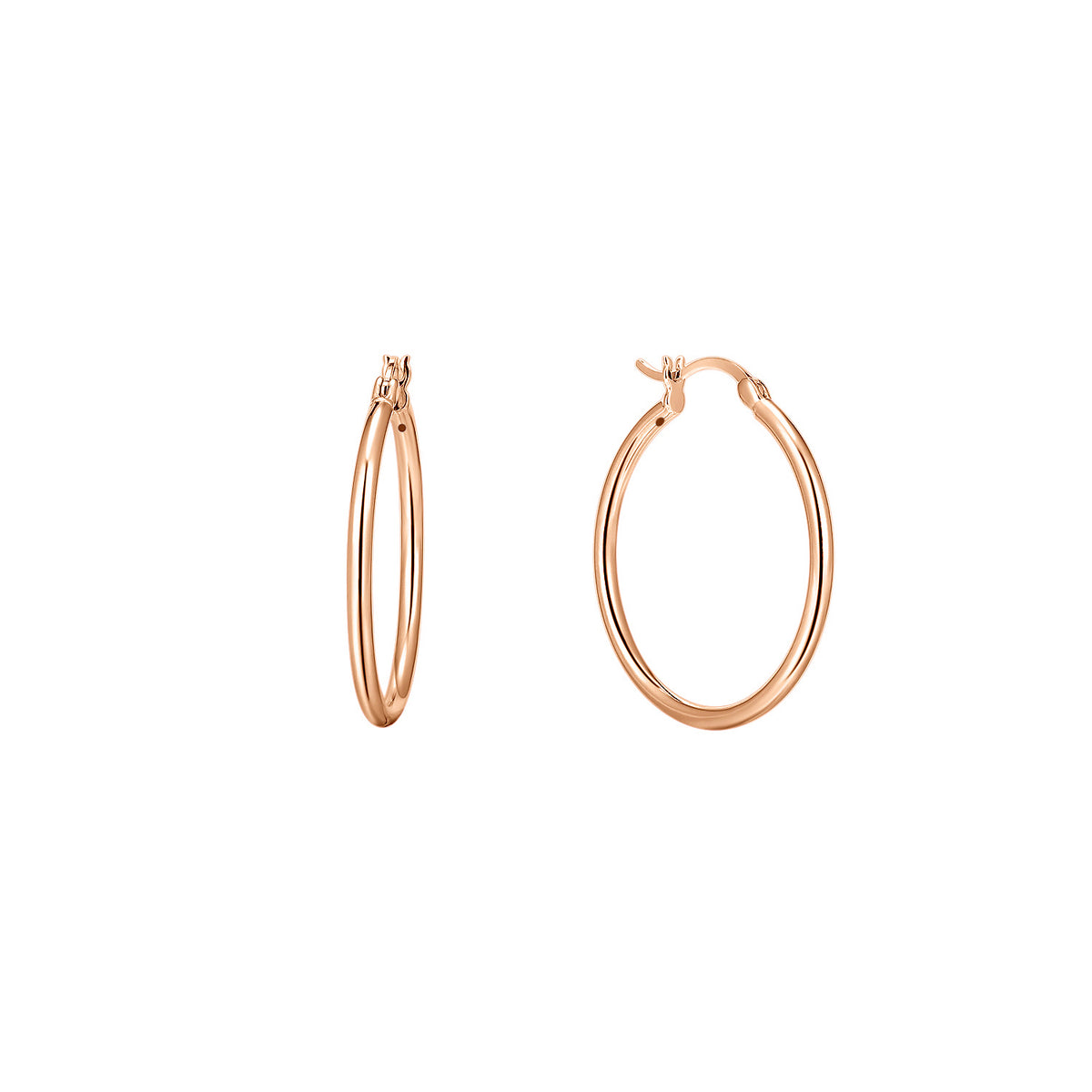 Magna | Toddler Hoop Earrings | Rose Gold Plated 925 Silver
