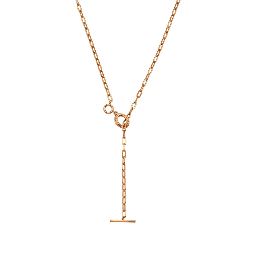 Bellona | Bond Necklace | 925 Silver | Rose Gold Plated - Spirito Rosa | Βραβευμένα Κοσμήματα σε Απίστευτες Τιμές