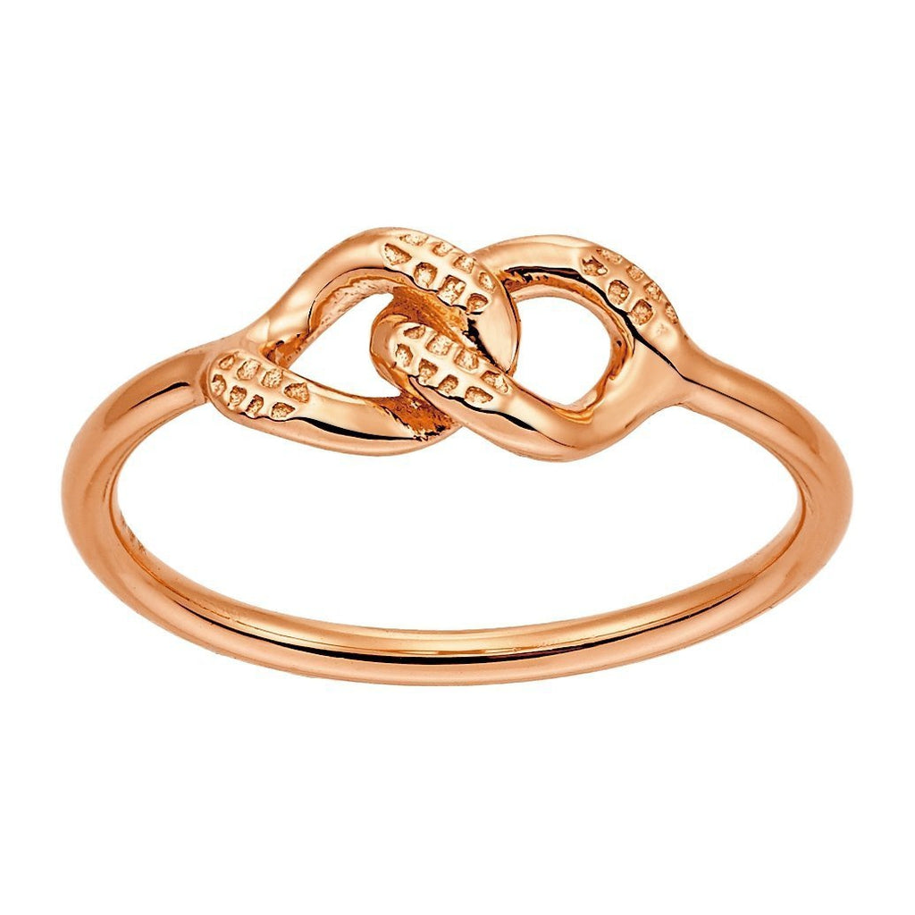 Bellona | Bond Ring | 925 Silver | Rose Gold Plated - Spirito Rosa | Βραβευμένα Κοσμήματα σε Απίστευτες Τιμές
