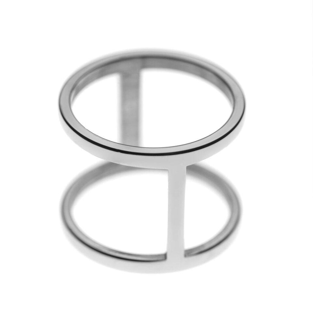 Ferro - Double Ring Stainless Steel Ion White Plating