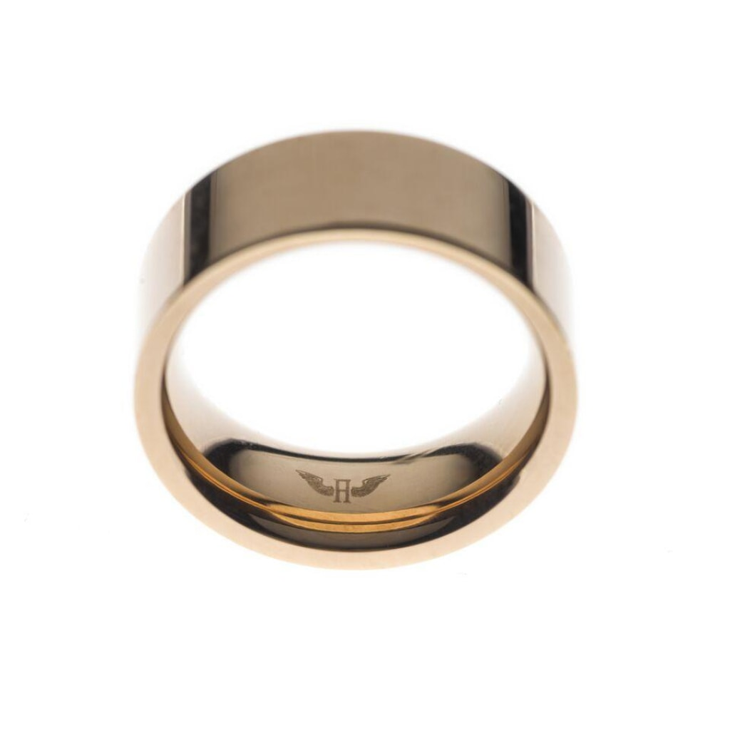 Ferro - Wide Ring Stainless Steel Ion Rose Plating