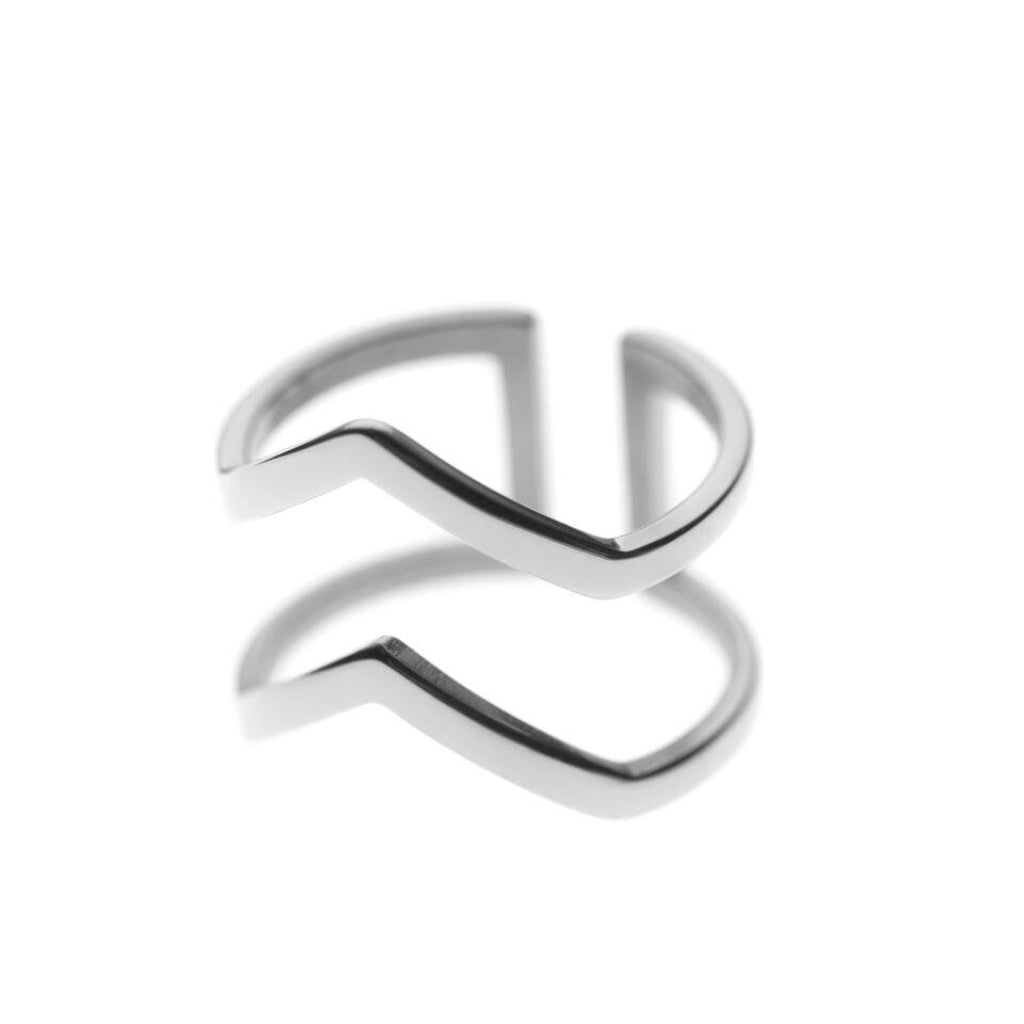 Ferro - Wonder Ring Stainless Steel Ion White Plating