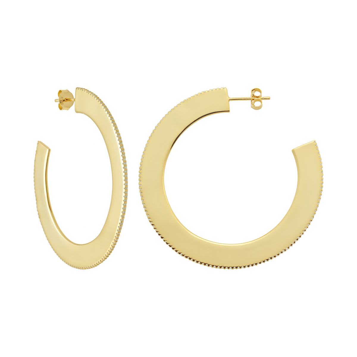 Ferentina | Princess Cake Earrings | 18K Gold Plated 925 Silver