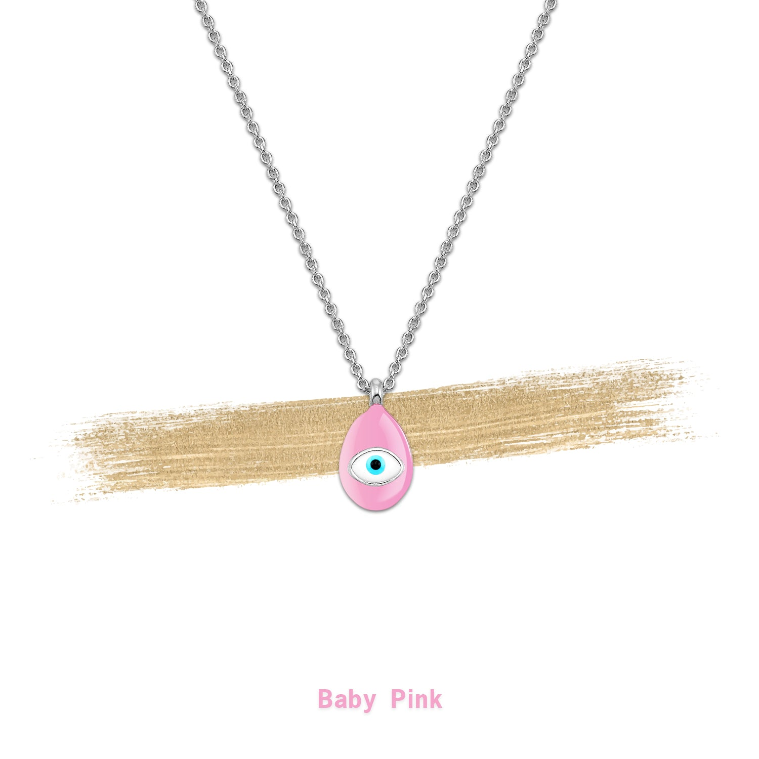 Special Collection | Mati | Baby Pink & Rhodium Plated 925 Silver - Spirito Rosa | Βραβευμένα Κοσμήματα σε Απίστευτες Τιμές