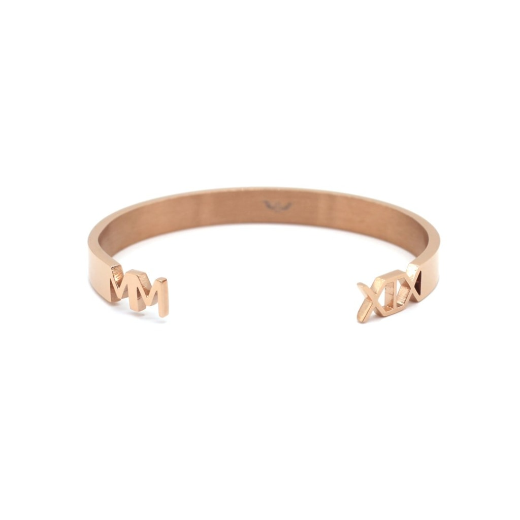 2019 - Concepto Bangle Stainless Steel Ion Rose Gold Plating