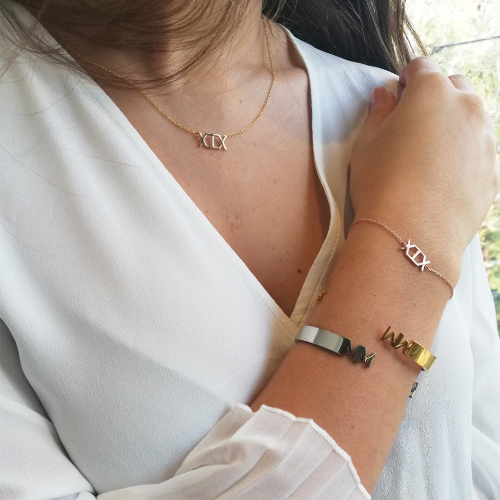 2019 - Concepto Bracelet Gold Plated Silver 925
