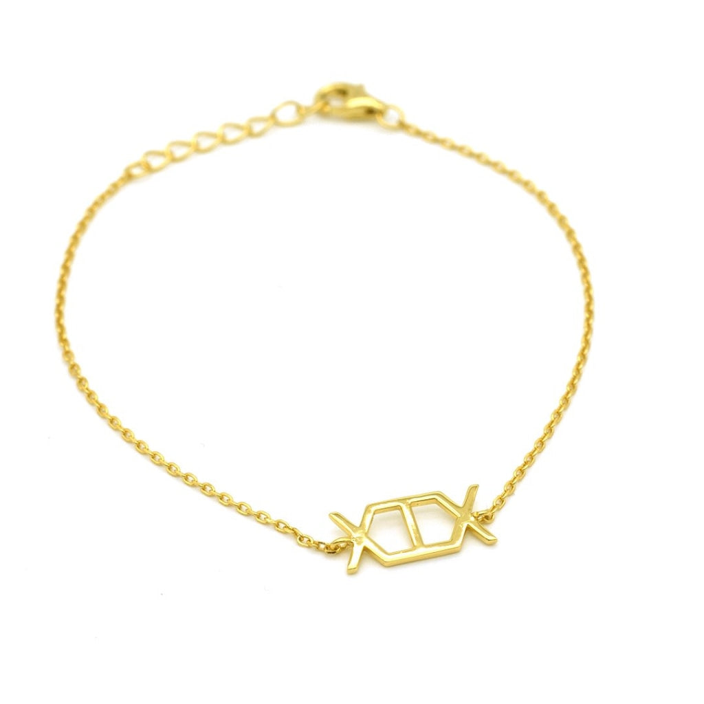 Concepto ΜΜΧΙΧ Bracelet - Gold Plated Silver 925 - Spirito Rosa | Βραβευμένα Κοσμήματα σε Απίστευτες Τιμές