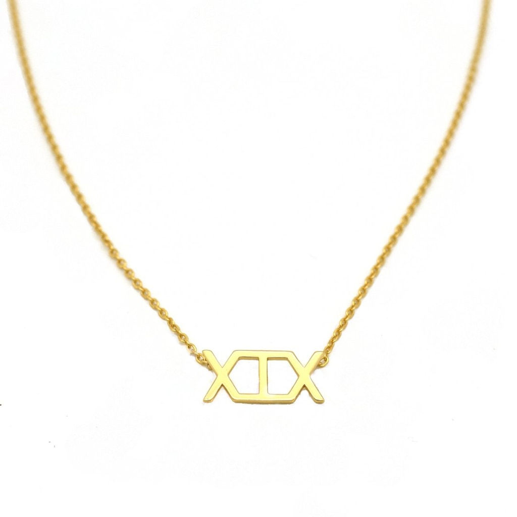 2019 - Concepto Necklace Gold Plated Silver 925