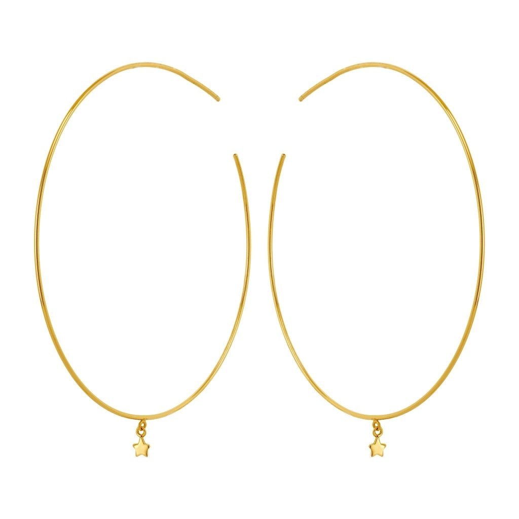 Spirito Rosa X Queen Dina Tiny Star Earrings | Gold Plated 925 Silver - Spirito Rosa | Βραβευμένα Κοσμήματα σε Απίστευτες Τιμές