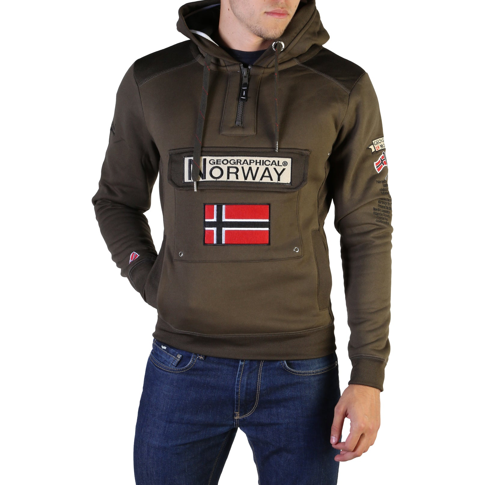 Abbigliamento Felpe Geographical Norway - Gymclass007_man Marche Famose