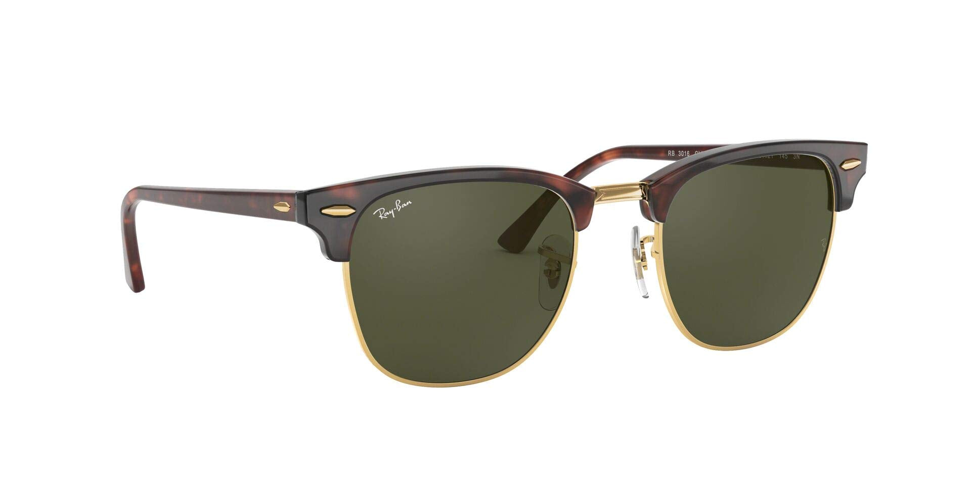 Ray-Ban Metallic RB 3016, Occhiali da Sole Unisex Adulto, Marrone (Braun Rb 3016 W0366), 51 mm Marche Famose