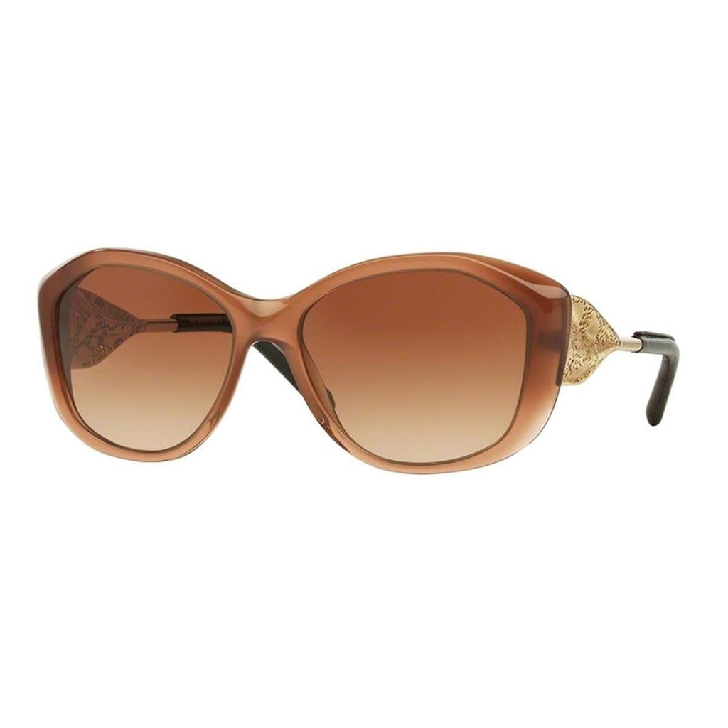 Burberry 0BE4208Q 317313 57 Occhiali da Sole, Marrone (Brown Gradient/Browngradient), Donna Marche Famose