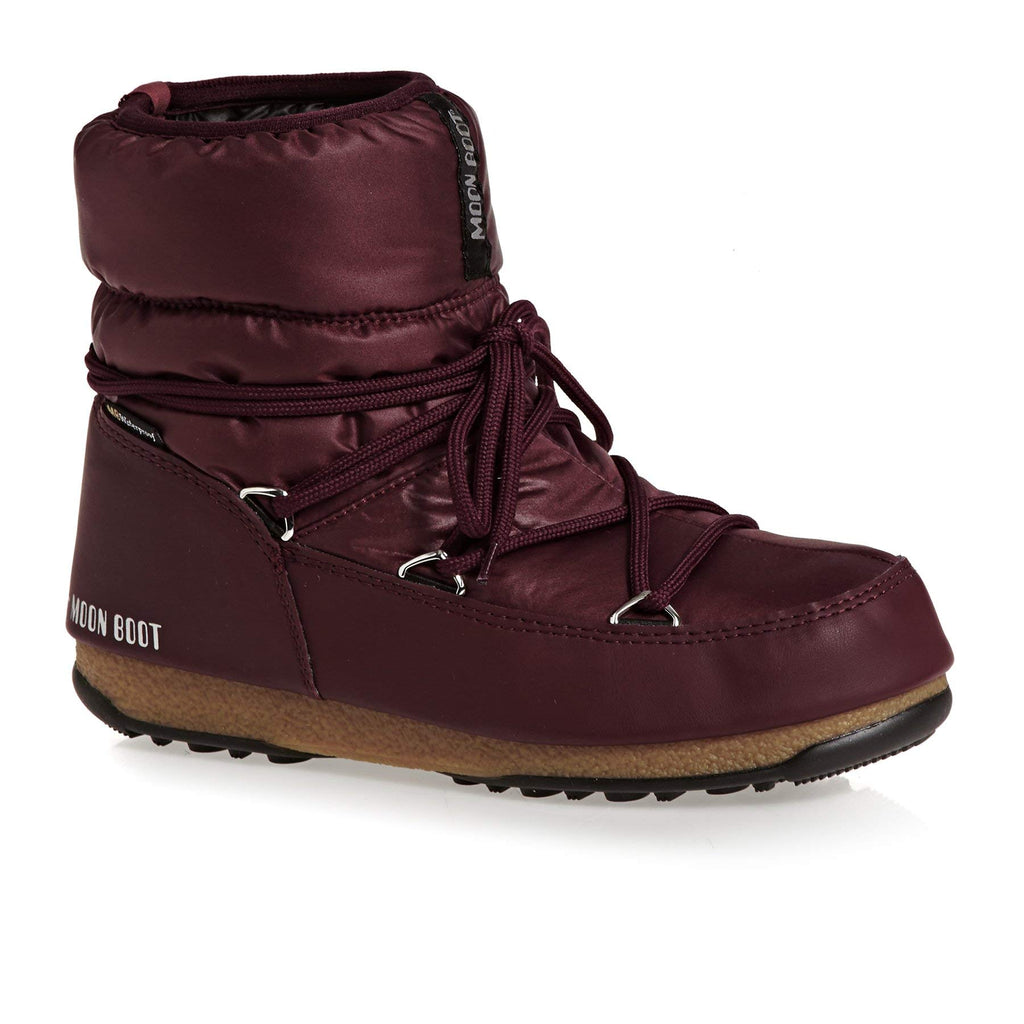 Scarpe Moon Boot Stivaletto Donna 24006200 Bordeaux 37 Marche Famose