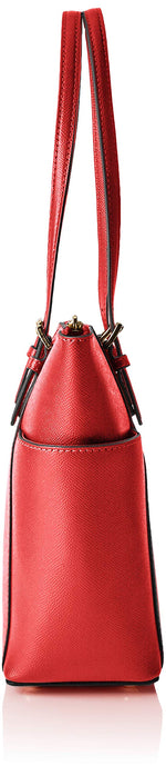 Michael Kors Jet Set Top-zip Tote - Borse Donna, Rosso (Bright Red), 11.4x25.4x38.1 cm (B x H T) Marche Famose