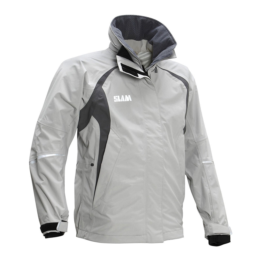 Sport Slam Force 2 Giacca Donna - 100% Nylon Taslon Impermeabile: 15.000 mm, Donna, Grey, L Marche Famose