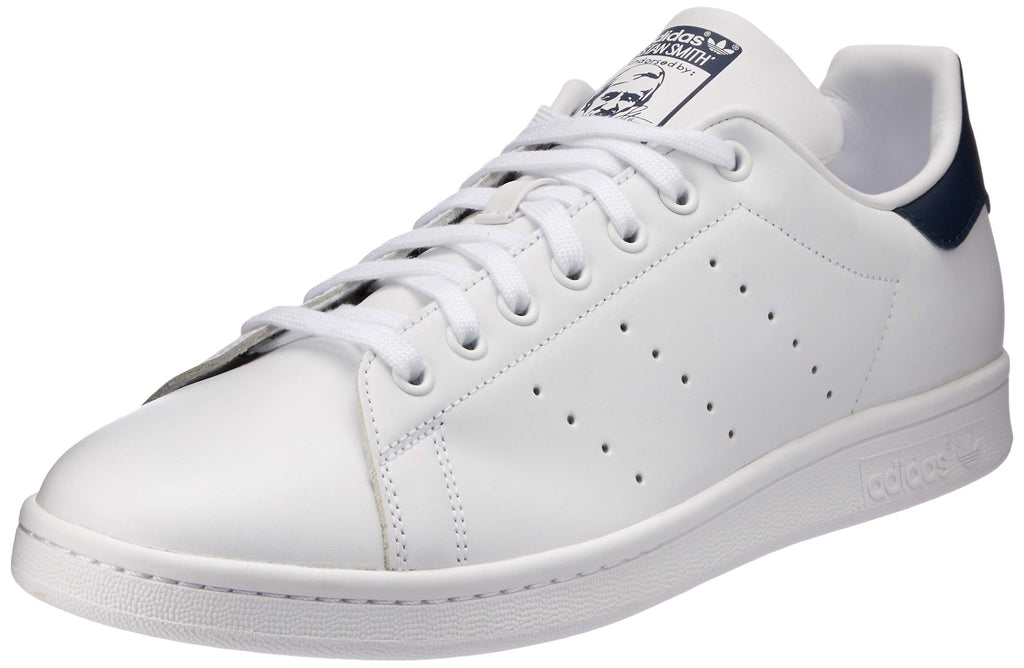 Scarpe adidas Originals, Stan Smith, Sneakers, Unisex - Adulto, Bianco (Core White/Dark Blue) Marche Famose