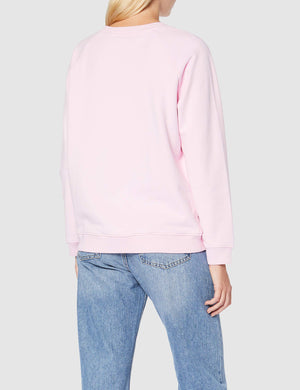 Levi's Relaxed Graphic T-Shirt, Rosa (Box Tab Crew Pink Lady 0067), Small Donna Marche Famose