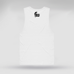 Bow Life - White Muscle Tee