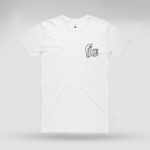 Bow Team White Tee