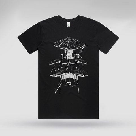 Bow Warrior Black Tee