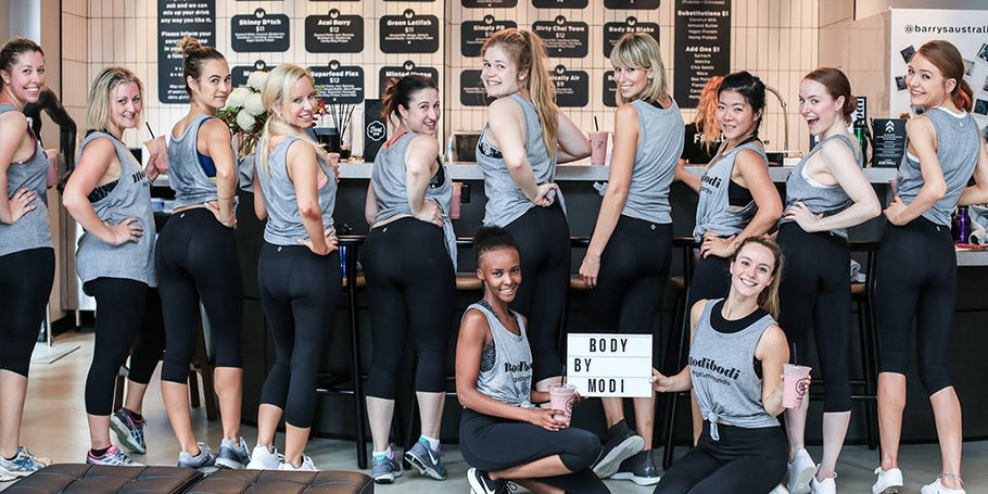 Behind the scenes of our Modibodi Active 3/4 Leggings launch!