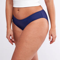 Modibodi Swimwear Bikini Pants Navy Light-Moderate |ModelName:Jessica L