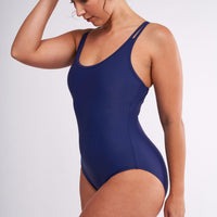 Modibodi Swimwear One Piece Navy Light-Moderate |ModelName:Jessica L