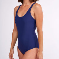 Modibodi Swimwear One Piece Navy Light-Moderate |ModelName:Lauren S