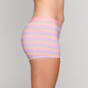Load image into Gallery viewer, Teen Period Underwear - RED Modibodi Hipster Boyshort - Rainbow Stripes