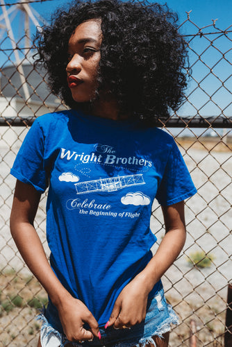 Vintage Tee 'The Wright Brothers : Celebrate The Beginning of Flight' Tee Shirt Size S