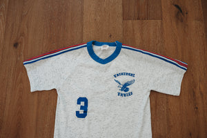Vintage Team Shirt Cathedral Eagles School Jersey Reach Manufacture 50/50 Blend Small