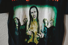 Load image into Gallery viewer, Vintage Original Marilyn Manson Tee Shirt Size Large