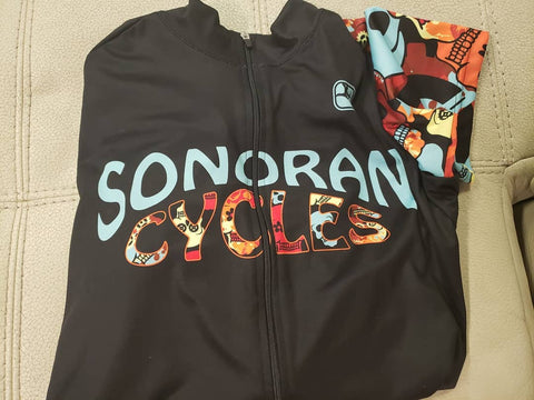 Sonoran Cycles Skull Jersey (Women's)