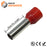 8 AWG (15mm Pin) Insulated Ferrules - Red