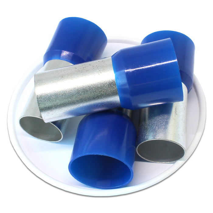 4/0 AWG (27mm Pin) Insulated Ferrules - Blue