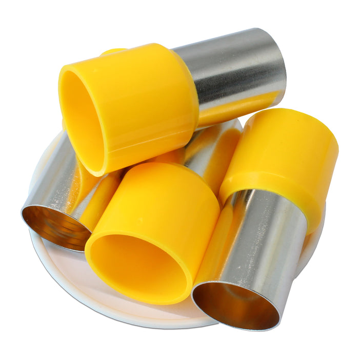 300MCM (25mm Pin) Insulated Ferrules - Yellow