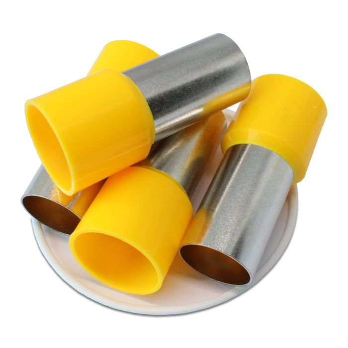 300MCM (32mm Pin) Insulated Ferrules - Yellow