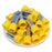 4 AWG (15mm Pin) Insulated Ferrules - Yellow