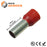 2 AWG (18mm Pin) Insulated Ferrules - Red