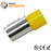 2/0 AWG (25mm Pin) Insulated Ferrules - Yellow