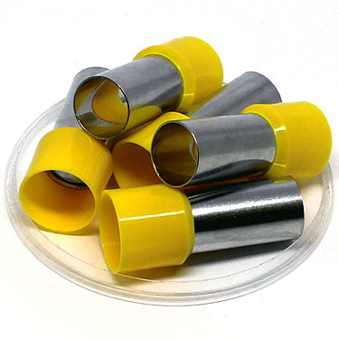 2/0 AWG (27mm Pin) Insulated Ferrules - Yellow